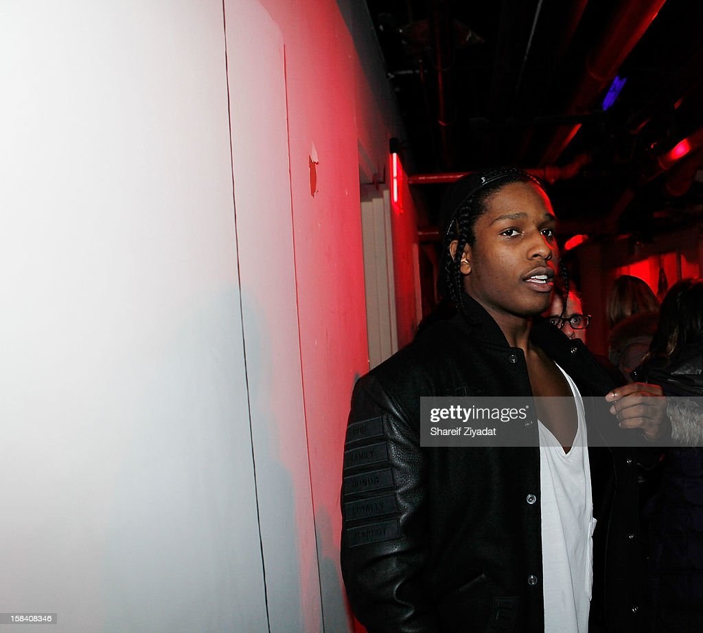 Rocky attends Tigger's 40th Birthday celebration at WIP on December 12, 2012 in New York City.