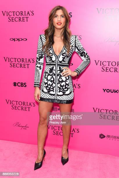 Rocky Barnes attends 2017 Victoria's Secret Fashion Show In Shanghai Pink Carpet Arrivals at MercedesBenz Arena on November 20 2017 in Shanghai China