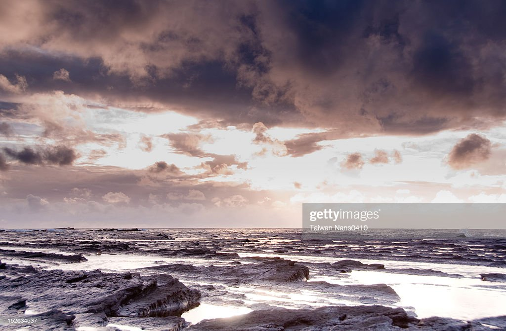 Rocky beach : Stock Photo