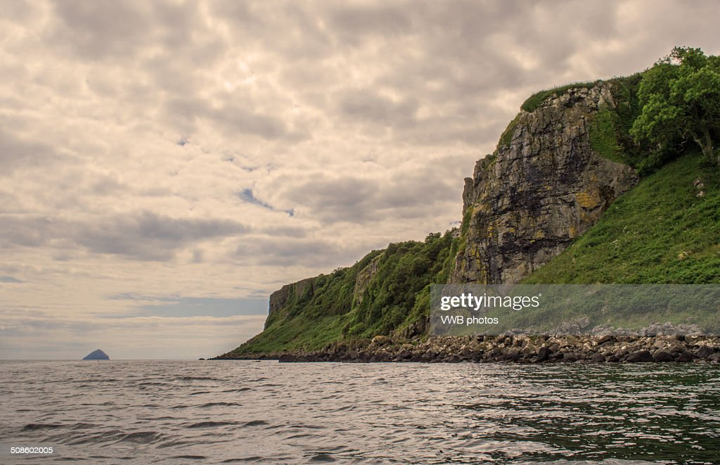 Rocky cliffs and coastline : Foto de stock