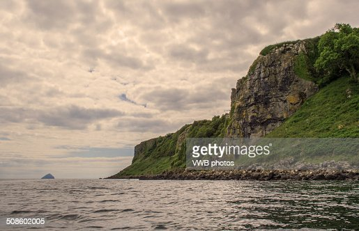 Rocky cliffs and coastline : Foto de stock