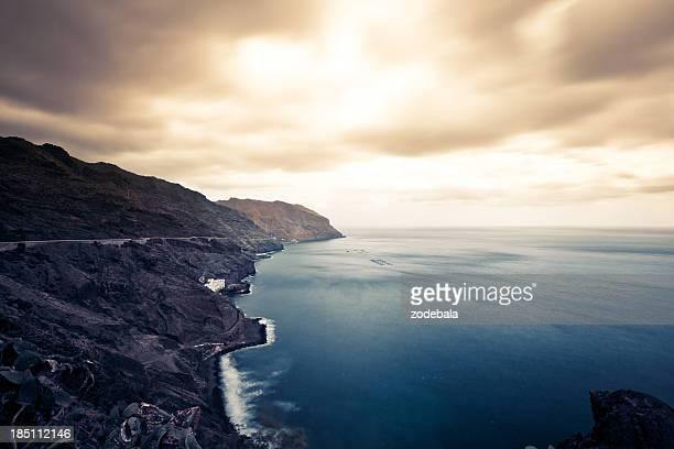 Felsenküste, Kanarische Inseln Meerlandschaft