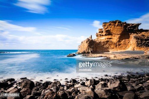 Rocky Coastline, Canary Island Seascape