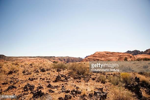 Rocky landscape, Utah, USA
