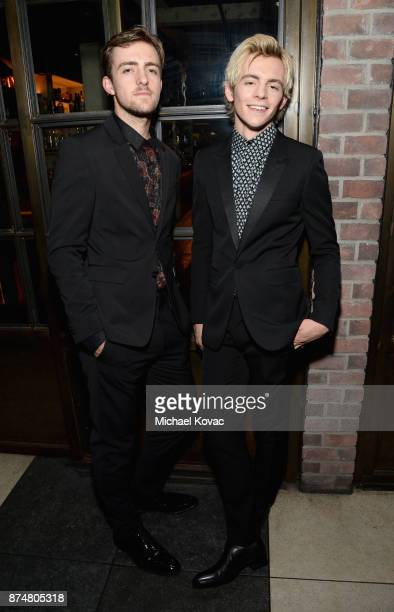 Rocky Lynch and Ross Lynch at Moet Celebrates The 75th Anniversary of The Golden Globes Award Season at Catch LA on November 15 2017 in West...