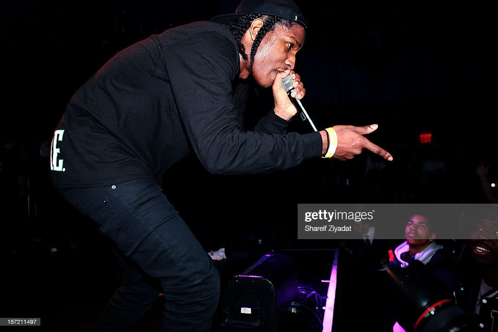 Rocky performs at Best Buy Theatre on November 29, 2012 in New York City.