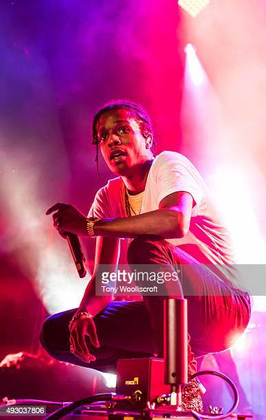 Rocky performs at Genting Arena on October 16 2015 in Birmingham England
