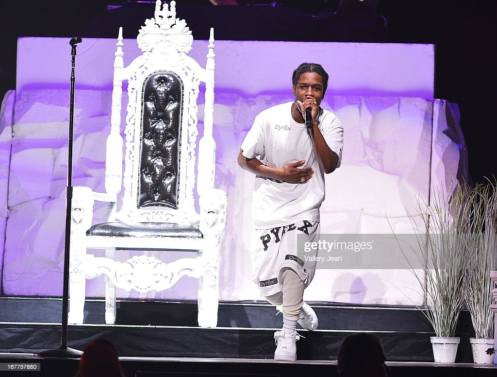 Rocky performs at the BB&T Center on April 20, 2013 in Sunrise, Florida.