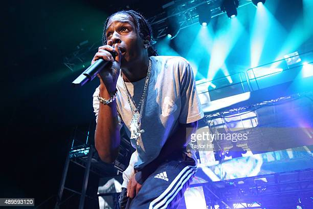 Rocky performs at The Theater at Madison Square Garden on September 22 2015 in New York City