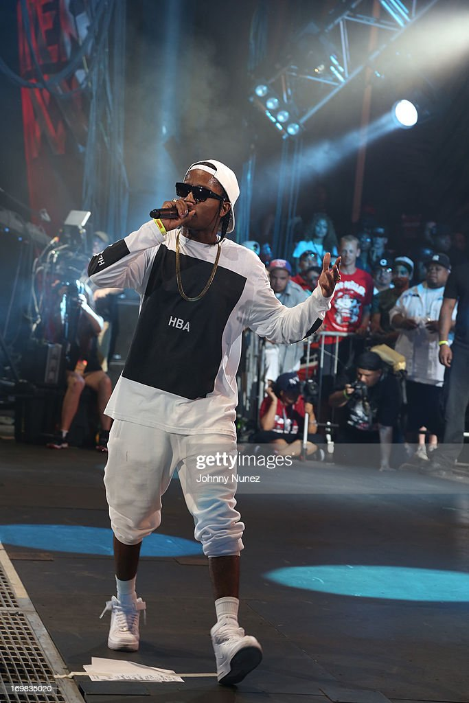 Rocky performs during HOT 97 Summer Jam XX at MetLife Stadium on June 2, 2013 in East Rutherford, New Jersey.