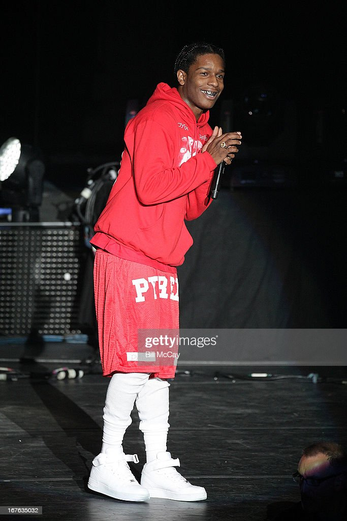 Rocky performs in concert at Ovation Hall at Revel Resort & Casino April 26, 2013 in Atlantic City, New Jersey