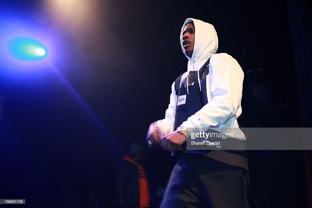 Rocky performs in concert hosted by POWER 105.1 at Best Buy Theater on December 18, 2012 in New York City.