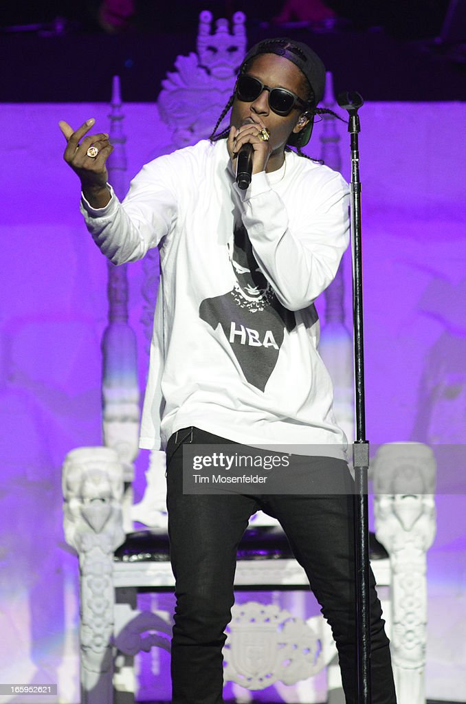 Rocky performs in support of his Long Live release at HP Pavilion on April 6, 2013 in San Jose, California.