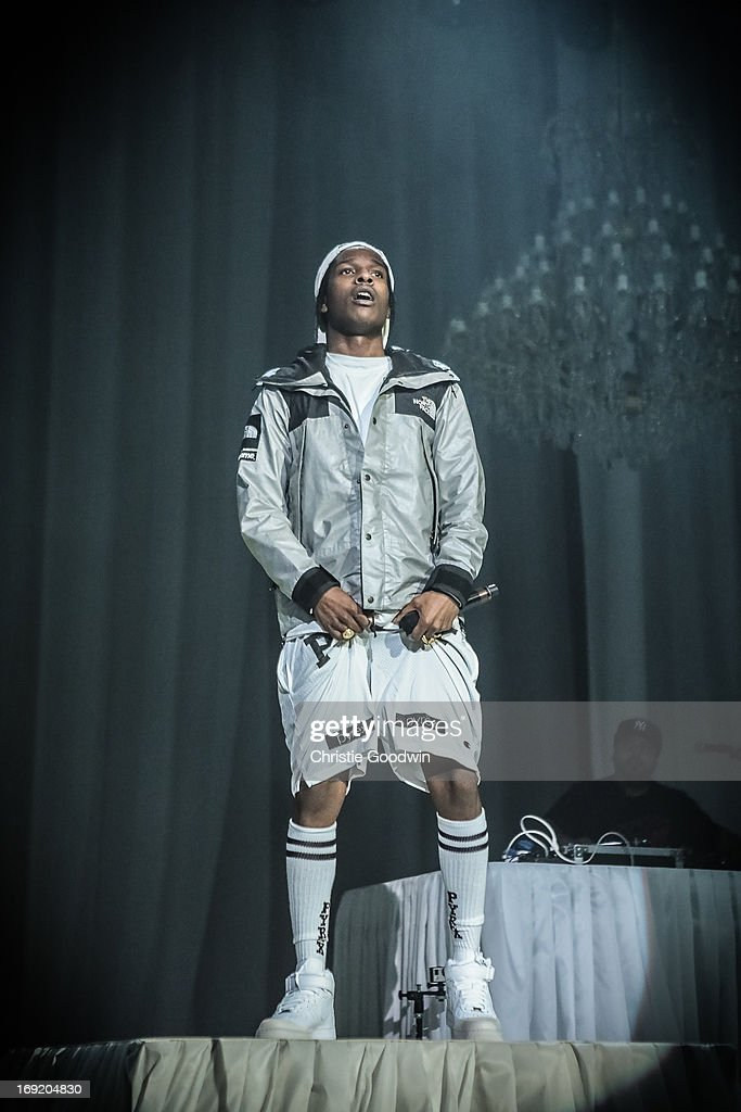 Rocky performs on stage at Brixton Academy on May 21, 2013 in London, England.