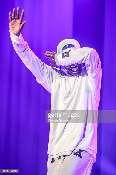 Rocky performs on stage at Brixton Academy on May 21 2013 in London England