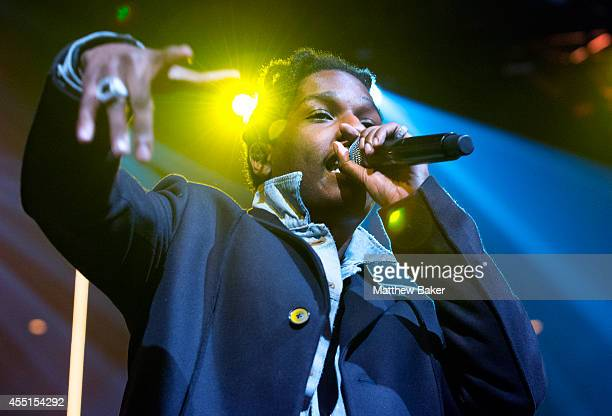 Rocky performs on stage with Sam Smith as part of the iTunes Festival at The Roundhouse on September 9 2014 in London England