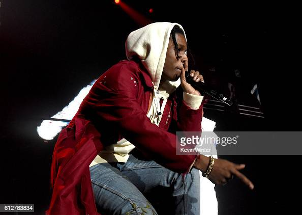 Rocky performs onstage during the Bad Boy Family Reunion Tour at The Forum on October 4 2016 in Inglewood California