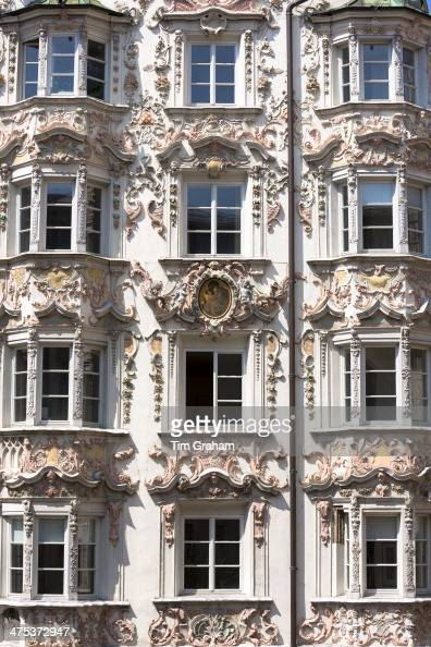 Traditional architecture in innsbruck austrian tyrol for Baroque rococo architecture