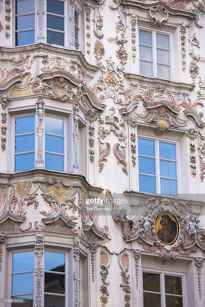 Best of news getty images for Baroque rococo architecture