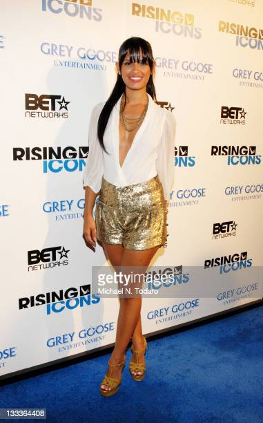 Rocsi attends Grey Goose Entertainment and BET's 'Rising Icons' event at 1OAK on July 27 2009 in New York City