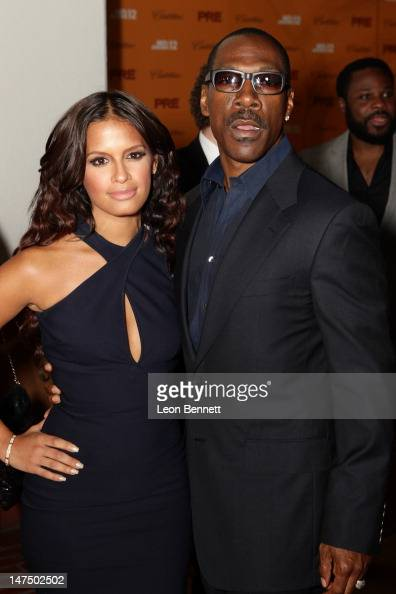 Rocsi Diaz and Eddie Murphy attends the BET Networks CEO Debra L Lee Hosts 6th Annual BET PreExclusive Dinner Celebration at Union Station on June 30...