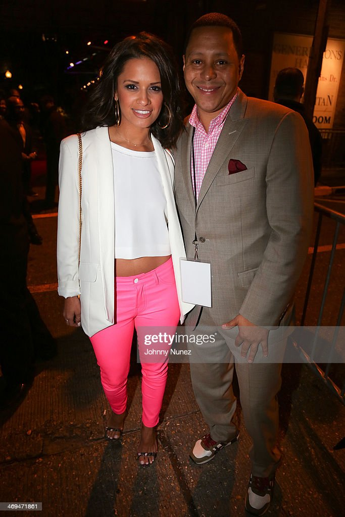 Rocsi Diaz and Keenan Towns attend the Kenny 'The Jet' Smith all-star party during NBA All-Star Weekend 2014 at Metropolitan Nightclub on February 14, 2014 in New Orleans, Louisiana.