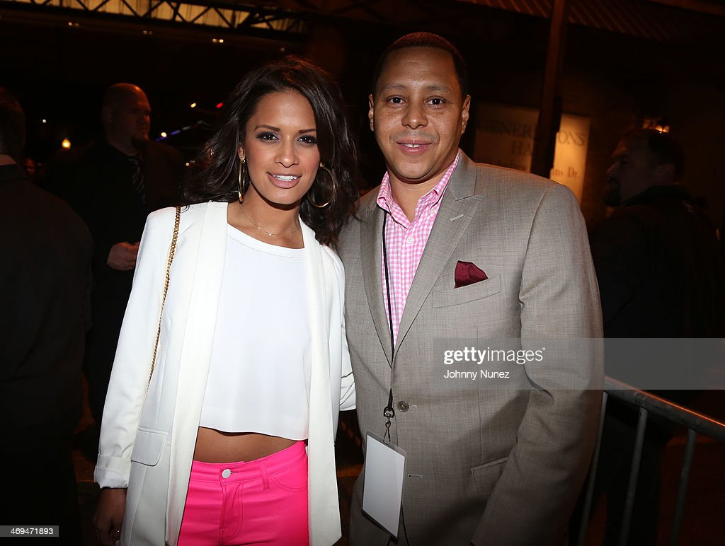 <a gi-track='captionPersonalityLinkClicked' href=/galleries/search?phrase=Rocsi&family=editorial&specificpeople=747177 ng-click='$event.stopPropagation()'>Rocsi</a> Diaz and Keenan Towns attend the Kenny 'The Jet' Smith all-star party during NBA All-Star Weekend 2014 at Metropolitan Nightclub on February 14, 2014 in New Orleans, Louisiana.