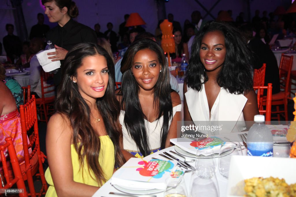 <a gi-track='captionPersonalityLinkClicked' href=/galleries/search?phrase=Rocsi&family=editorial&specificpeople=747177 ng-click='$event.stopPropagation()'>Rocsi</a> Diaz, <a gi-track='captionPersonalityLinkClicked' href=/galleries/search?phrase=Angela+Simmons&family=editorial&specificpeople=653461 ng-click='$event.stopPropagation()'>Angela Simmons</a> and <a gi-track='captionPersonalityLinkClicked' href=/galleries/search?phrase=Tika+Sumpter&family=editorial&specificpeople=4168370 ng-click='$event.stopPropagation()'>Tika Sumpter</a> attend the 13th Annual Russel Simmons Rush philanthropic ART FOR LIFE on July 28, 2012 in East Hampton, New York.