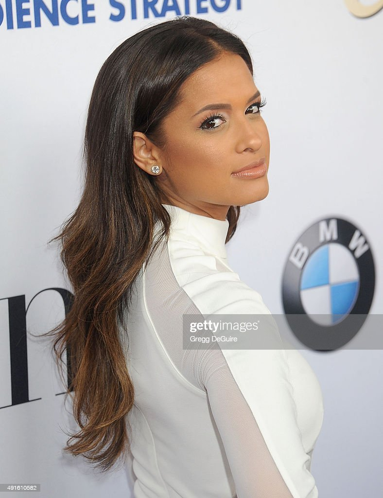Rocsi Diaz arrives at the Latina 'Hot List' Party at The London West Hollywood on October 6, 2015 in West Hollywood, California.