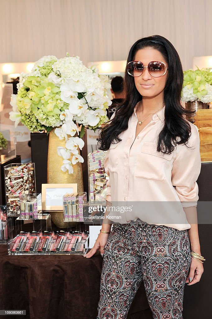 <a gi-track='captionPersonalityLinkClicked' href=/galleries/search?phrase=Rocsi&family=editorial&specificpeople=747177 ng-click='$event.stopPropagation()'>Rocsi</a> Diaz attends 2013 InStyle Beauty Lounge - Day 2 at Four Seasons Hotel Los Angeles at Beverly Hills on January 12, 2013 in Beverly Hills, California.