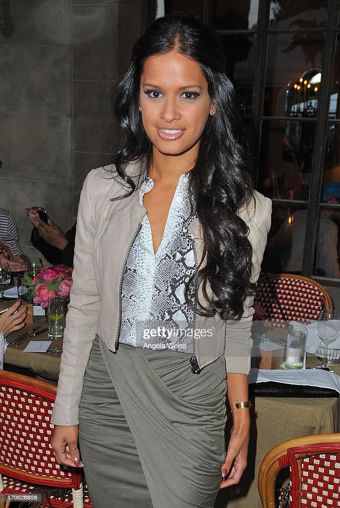 Rocsi Diaz attends Lucky Brand's Measure of Style Dinner at Chateau Marmont on June 13, 2013 in Los Angeles, California.