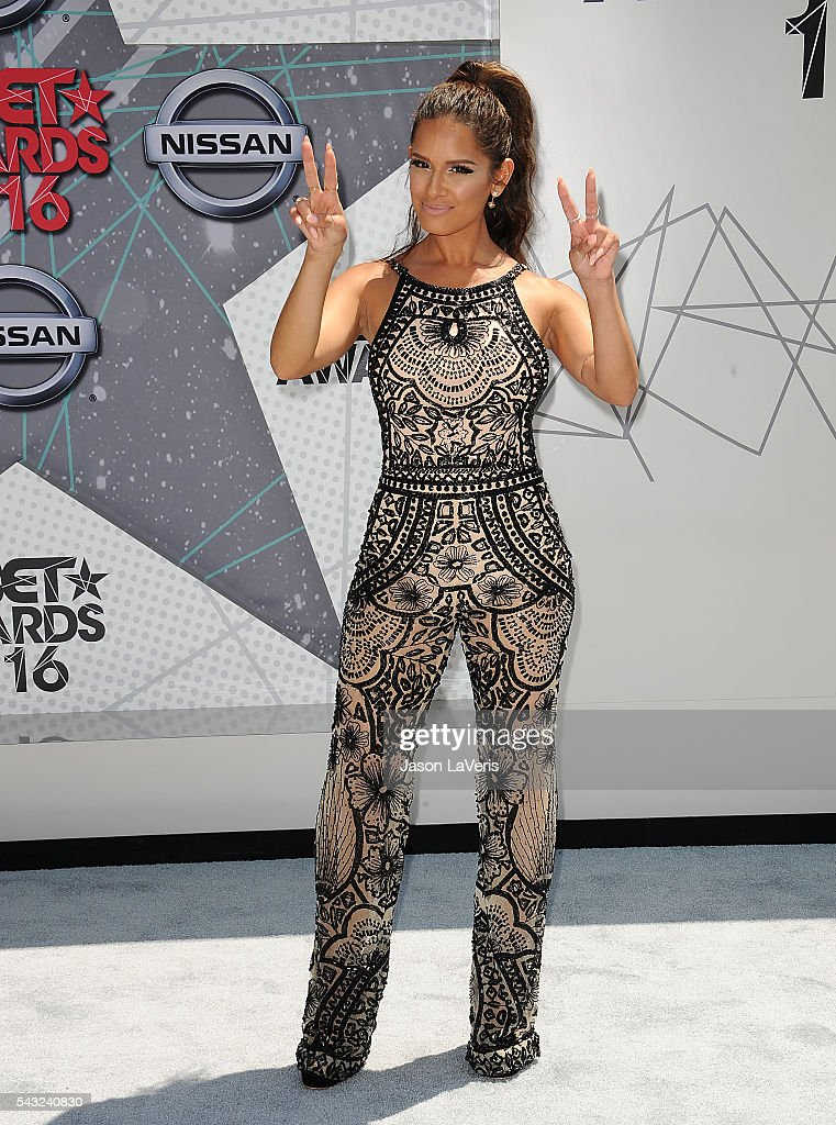 <a gi-track='captionPersonalityLinkClicked' href=/galleries/search?phrase=Rocsi&family=editorial&specificpeople=747177 ng-click='$event.stopPropagation()'>Rocsi</a> Diaz attends the 2016 BET Awards at Microsoft Theater on June 26, 2016 in Los Angeles, California.