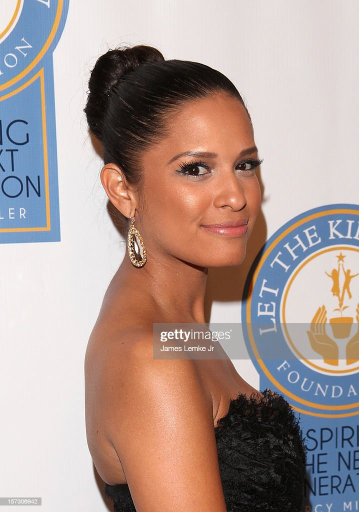Rocsi Diaz attends the Let The Kids Grow 2012 Inaugral Holiday Gala held at the Beverly Wilshire Four Seasons Hotel on December 1, 2012 in Beverly Hills, California.