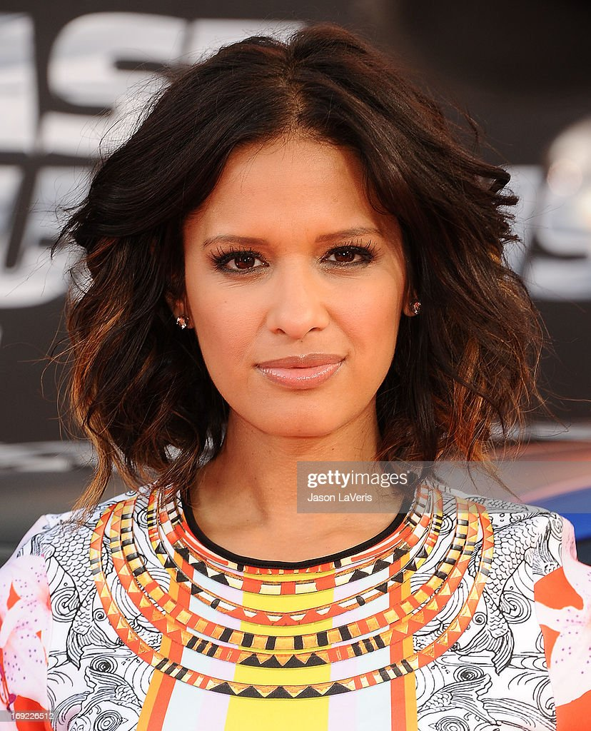 Rocsi Diaz attends the premiere of 'Fast & Furious 6' at Universal CityWalk on May 21, 2013 in Universal City, California.