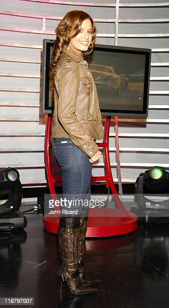 Rocsi during Young Jeezy Visits BET's '106 Park' February 08 2007 at BET Studios in New York City New York United States