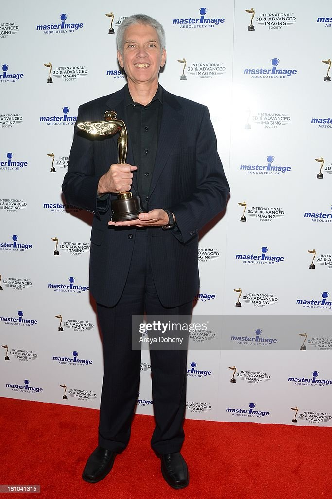 Rod Archer receives an award at the International 3D Society & Advanced Imaging Society 3D Products of the Year Awards at Paramount Studios on September 18, 2013 in Hollywood, California.