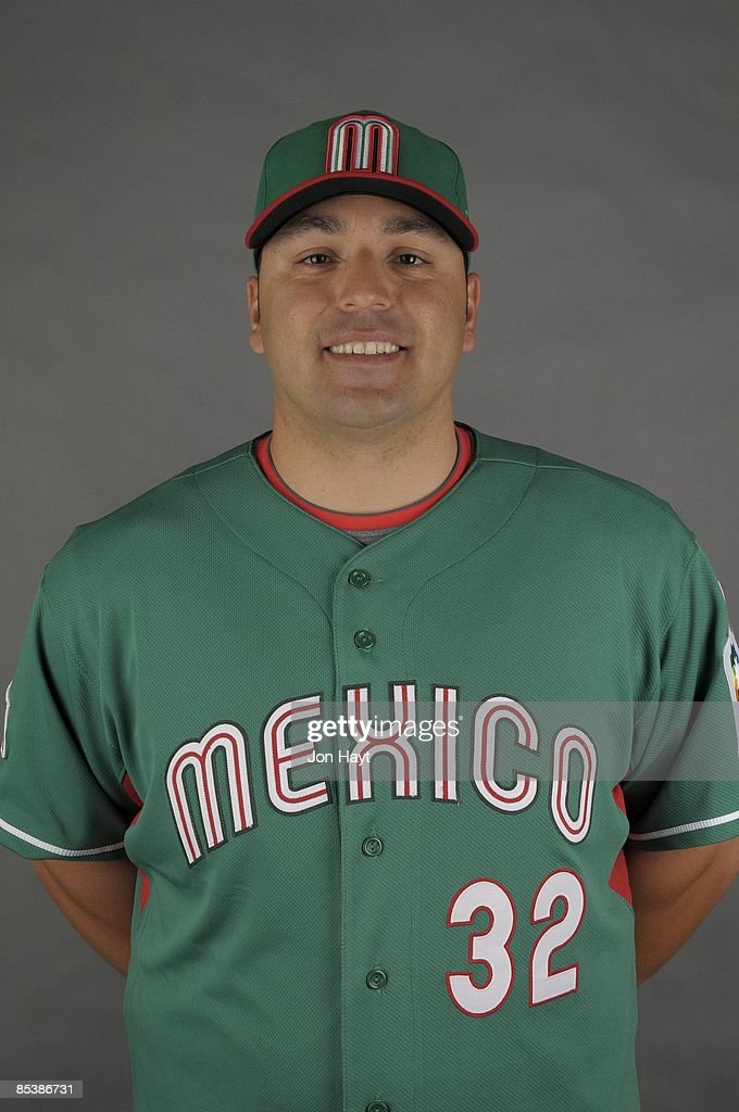 Rod Barajas of team Mexico poses during a 2009 World Baseball Classic Photo Day on Monday, March 2, 2009 in Tucson, Arizona.