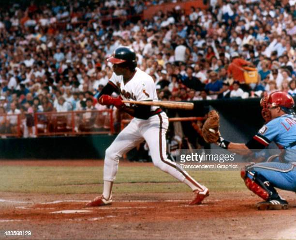 Rod Carew checks his swing during a game with the Chicago White Sox in 1972 at the Big A in Anaheim California