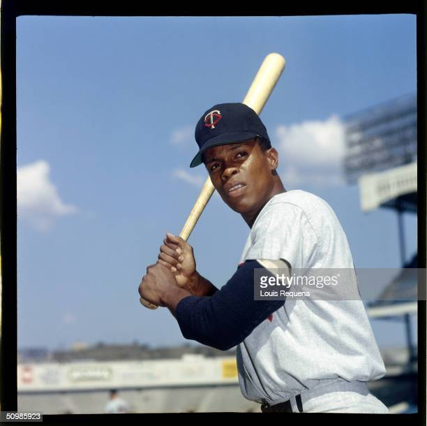 Rod Carew of the Minnesota Twins poses for a portrait circa 1970