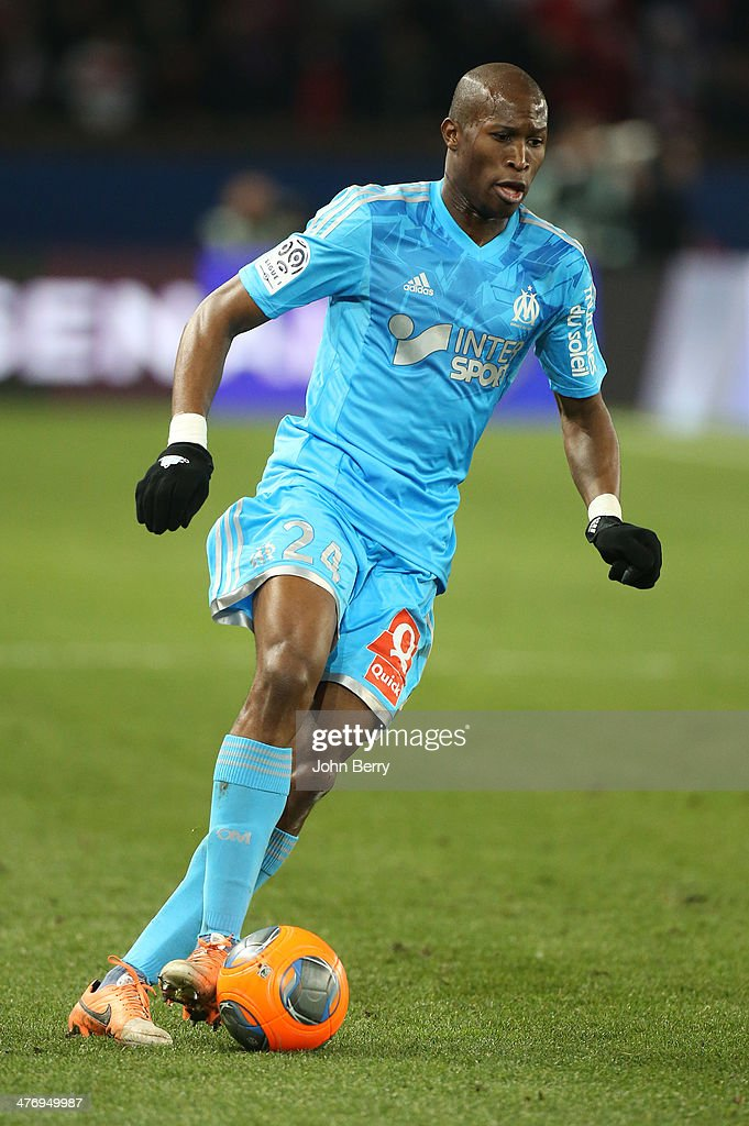 <a gi-track='captionPersonalityLinkClicked' href=/galleries/search?phrase=Rod+Fanni&family=editorial&specificpeople=684945 ng-click='$event.stopPropagation()'>Rod Fanni</a> of Olympique de Marseille in action during the Ligue 1 match between Paris Saint-Germain FC and Olympique de Marseille at Parc des Princes stadium on March 2, 2014 in Paris, France.