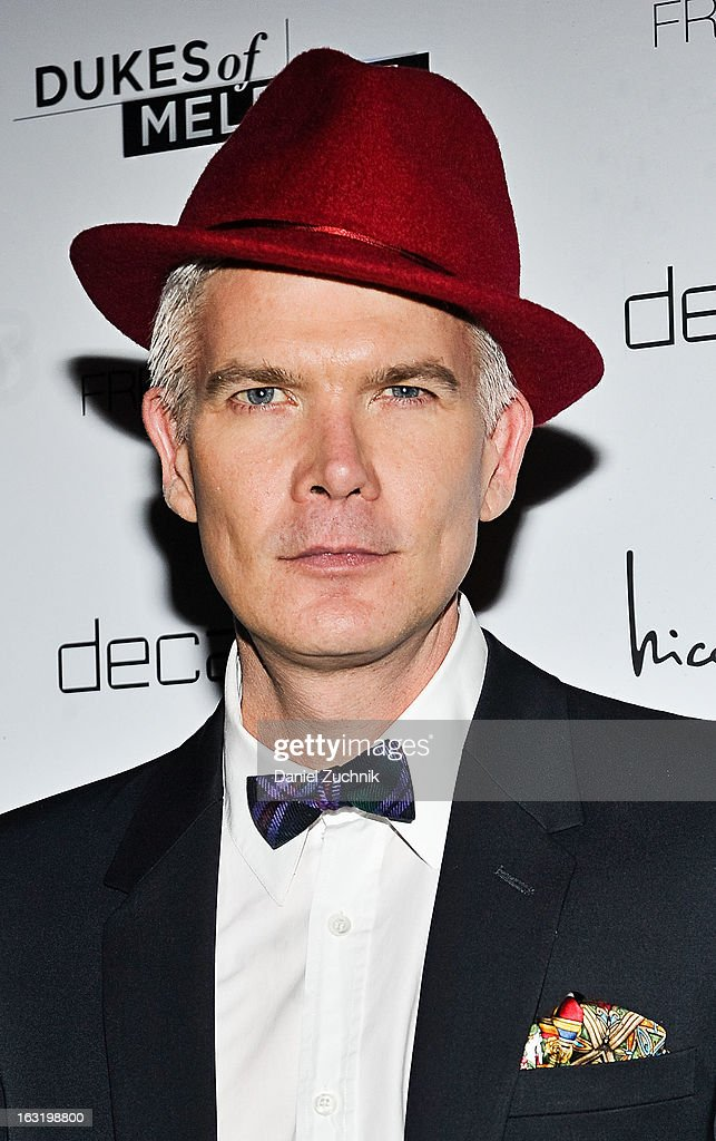 Rod Keenan attends the 'Dukes Of Melrose' Premiere at 583 Park Avenue on March 5, 2013 in New York City.
