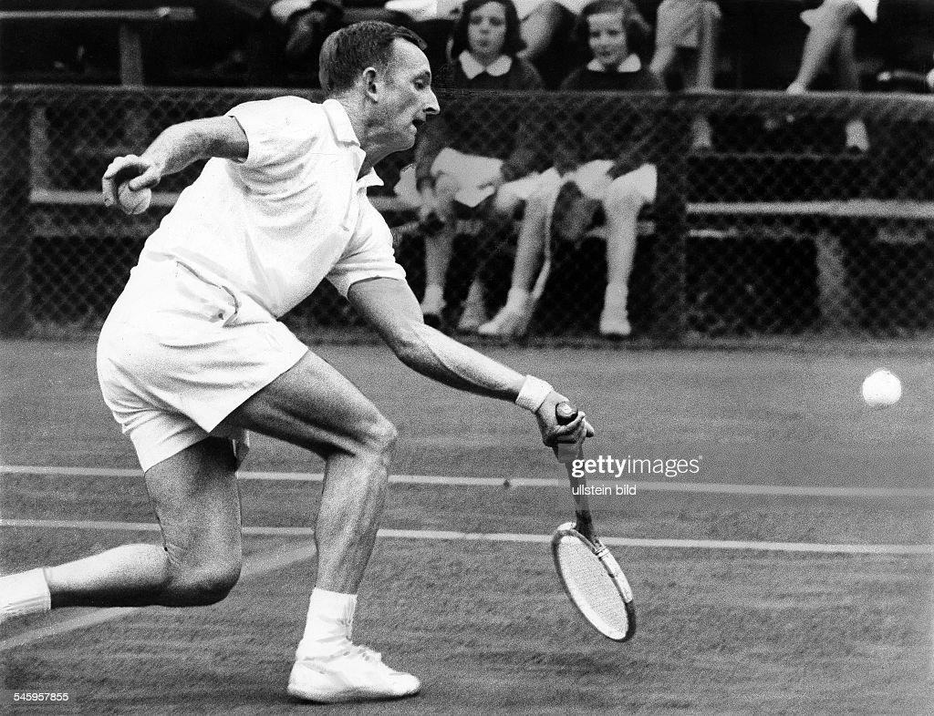Rod Laver 09 08 1938 Tennis player Australiaduring a tennis