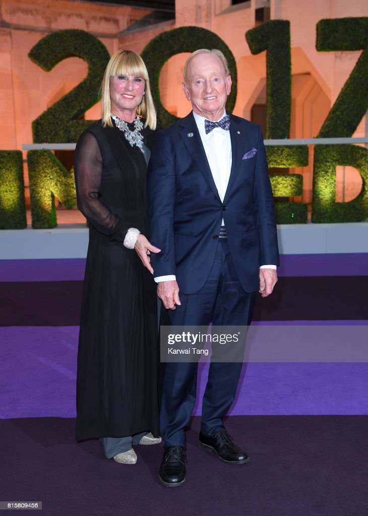 Rod Laver attends the Wimbledon Winners Dinner at The Guildhall on July 16, 2017 in London, England.