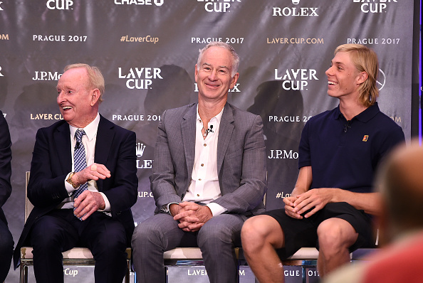 Image result for pete sampras & denis shapovalov
