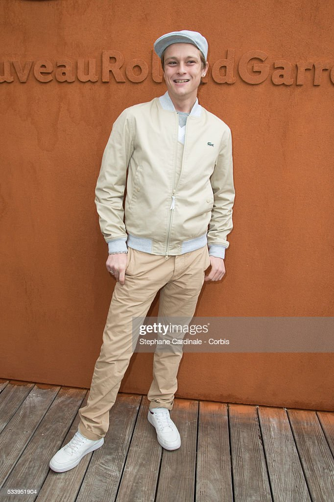 Rod Paradot attends the 2016 French tennis Open day 3, at Roland Garros on May 24, 2016 in Paris, France.