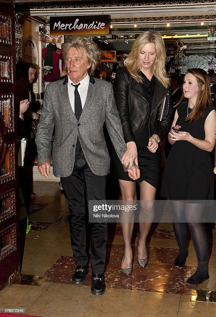 Celebrity Sightings In London - March 17, 2014