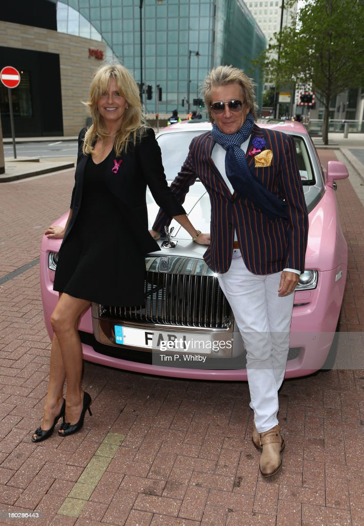 <a gi-track='captionPersonalityLinkClicked' href=/galleries/search?phrase=Rod+Stewart&family=editorial&specificpeople=160467 ng-click='$event.stopPropagation()'>Rod Stewart</a> and <a gi-track='captionPersonalityLinkClicked' href=/galleries/search?phrase=Penny+Lancaster&family=editorial&specificpeople=202837 ng-click='$event.stopPropagation()'>Penny Lancaster</a> arrive for the BGC Charity Day 2013 at BGC Partners on September 11, 2013 in London, England.