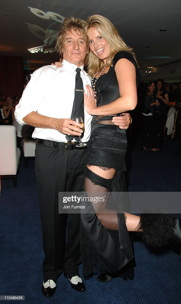 Rod Stewart and Penny Lancaster during GQ Men of the Year Awards - Drinks Reception at Royal Opera House in London, Great Britain.