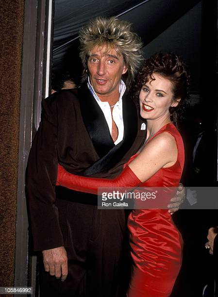 Rod Stewart and Sheena Easton during 16th Annual American Music Awards at Shrine Auditorium in Los Angeles California United States