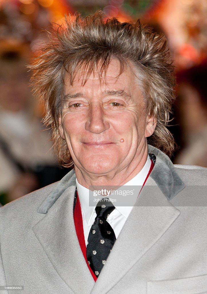 Rod Stewart attends the Winter Wonderland launch party at Hyde Park on November 22, 2012 in London, England.